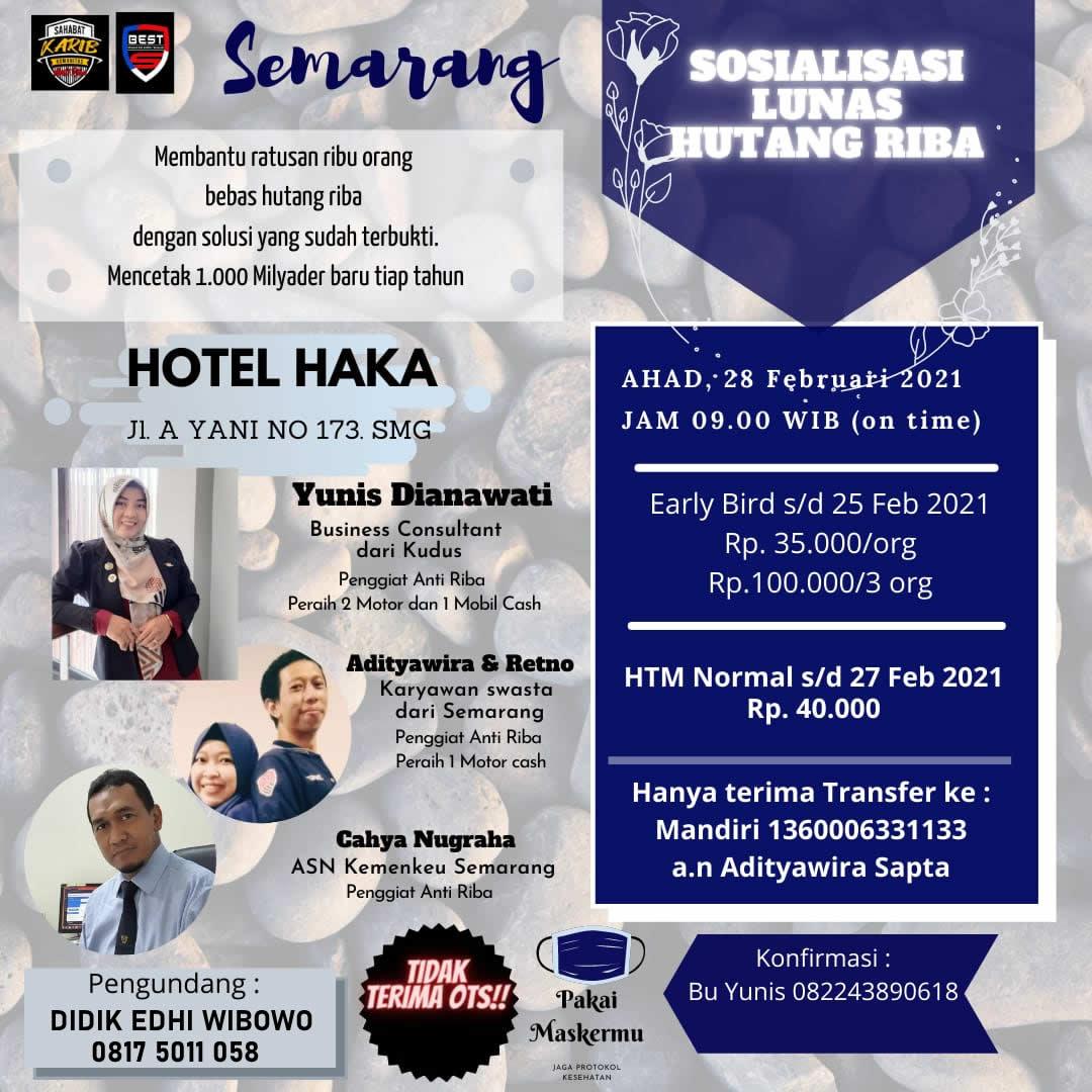 seminar bisnis sinergy ecoracing pt best semarang