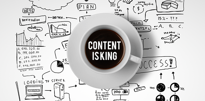 content is king dalam artikel marketing bisnis ecoracing