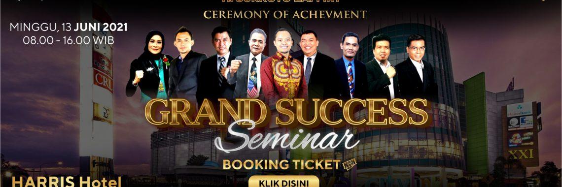 seminar grand success bisnis ecoracing 2021