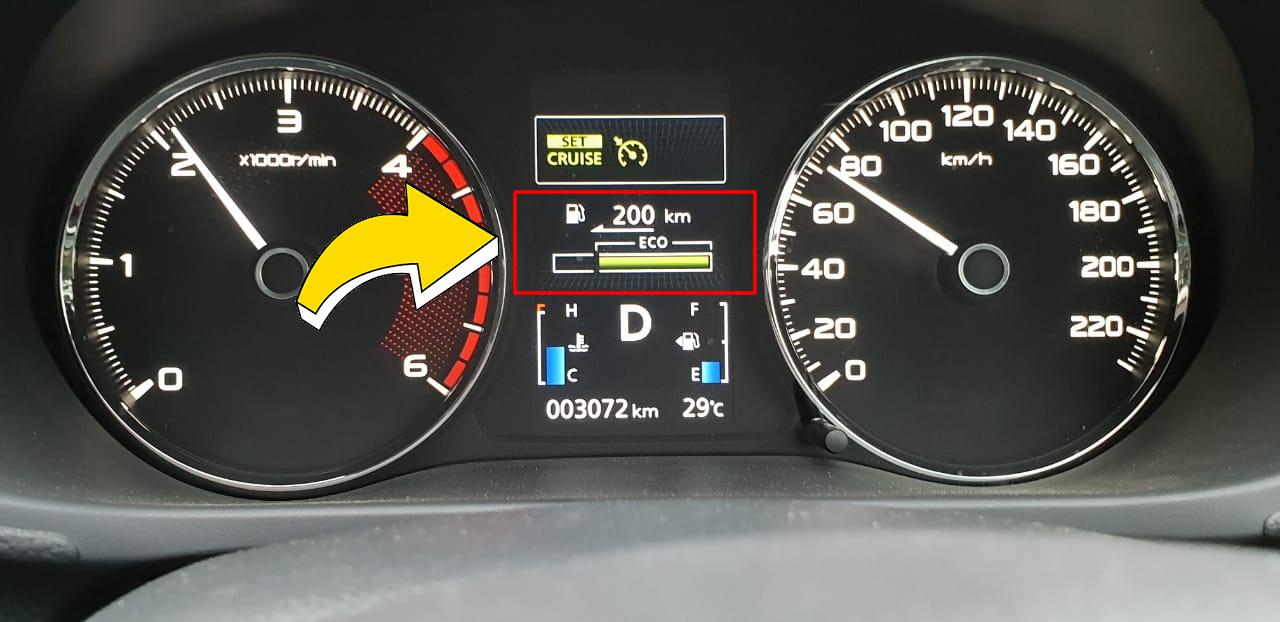 manfaat fitur eco untuk irit bbm saat berkendara
